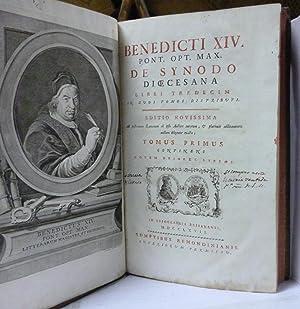 BENEDICTI XIV PONT. OPT. MAX. DE SYNODO DIOCENANA (2 Tomos en 1 Volumen)