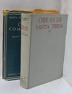OBRAS COMPLETAS Tomo III: Santa Teresa de Jesus