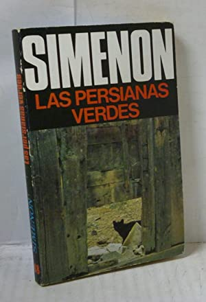 LAS PERSIANAS VERDES: Simenon, Georges