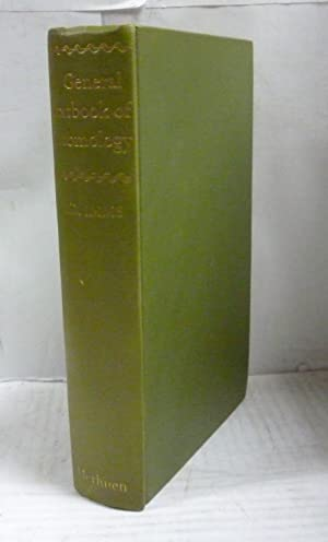 A GENERAL TEXTBOOK OF ENTOMOLOGY. Including the: Imms, A. D.