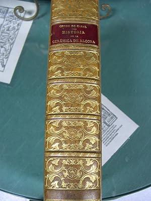 HISTORIA DE LA CERAMICA DE ALCORA. Estudio: Escriva de Romani