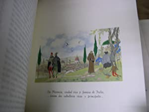 EL INGENIOSO HIDALGO DON QUIXOTE ( QUIJOTE ) DE LA MANCHA. ( 4 TOMOS): Cervantes Saavedra, Miguel ...