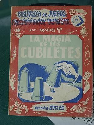 LA MAGIA DE LOS CUBILETES: Who ?