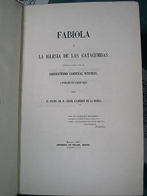 FABIOLA O LA IGLESIA DE LAS CATACUMBAS: Wiseman ( Cardenal )