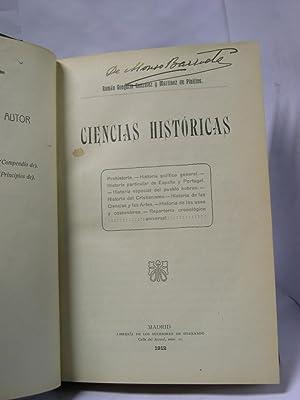 CIENCIAS HISTORICAS: Gonzalez y Ramirez de Pinillos, Roman Gregorio