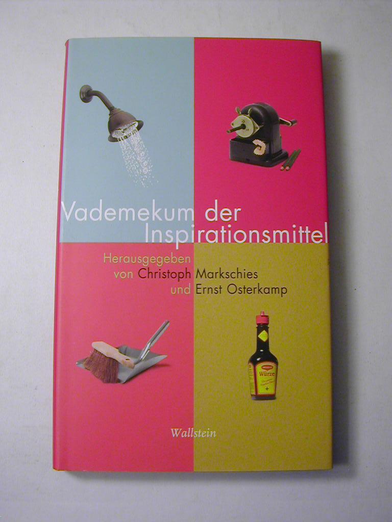 Vademekum der Inspirationsmittel - Christoph Markschies und Ernst Osterkamp (Hrsg.)