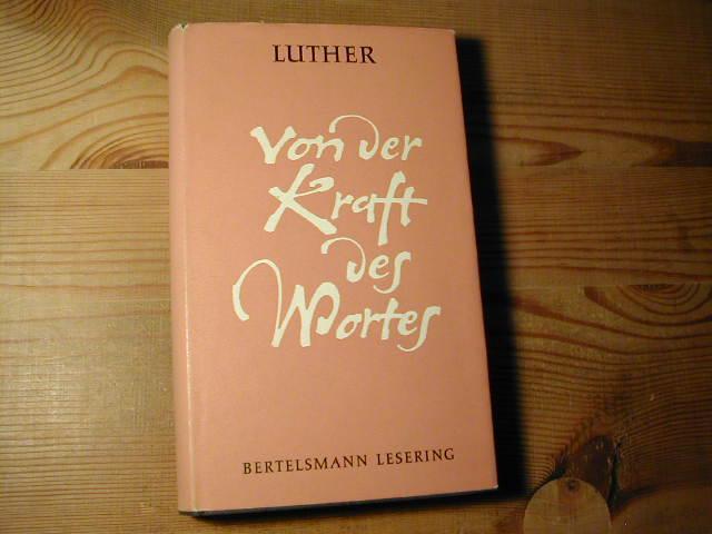 Briefe Von Luther : Ausgewählte schriften von luther martin zvab