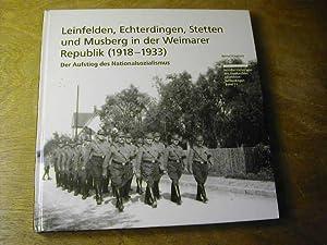 Leinfelden, Echterdingen, Stetten und Musberg in der: Bernd Klagholz