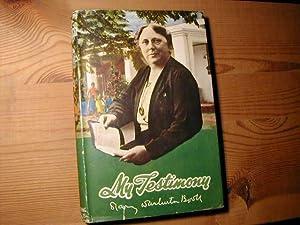 My Testimony: Mary Warburton Booth