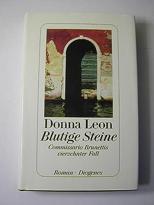 Blutige Steine : Commissario Brunettis vierzehnter Fall: Donna Leon