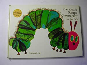 Die kleine Raupe Nimmersatt Spielbilderbuch Eric Carle Gerstenberg neuwertig Tiere Figuren