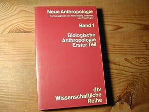 Bd. 1 - Neue Anthropologie - Band: Hans-Georg Gadamer /