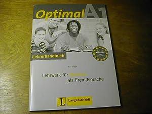 Optimal : Lehrwerk für Deutsch als Fremdsprache: Elke Burger