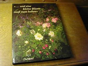 """Und eine kleine Blume muss man haben"""": Annie Von Der"""