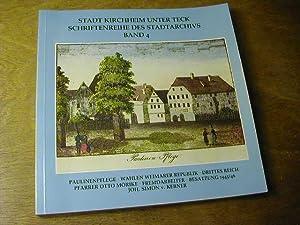 Paulinenpflege . / Schriftenreihe des Stadtarchivs Kirchheim: Stadtarchiv Kirchheim unter
