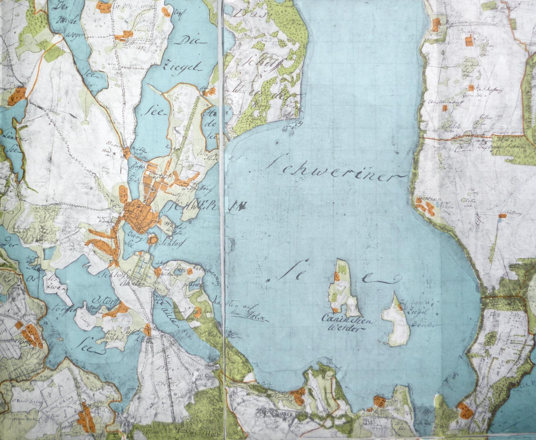 Wiebekingsche Karte Von Mecklenburg Um 1786 1 25000 Blatt 21