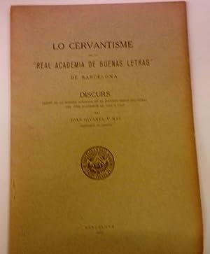 LO CERVANTISME EN LA REAL ACADEMIA DE: Givanel y Mas,