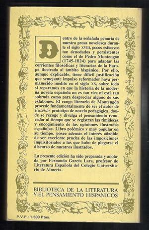 EUSEBIO: MONTENGON, PEDRO DE; FERNANDO GARCIA LARA, (EDICION)