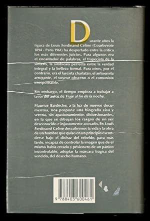 LOUIS-FERDINAND CELINE: BARDECHE, MAURICE; FRANCISCO PÉREZ GUTIÉRREZ, (TRADUCCÍON); ABDÓN FLORES, (...
