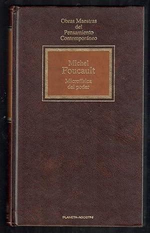 MICROFÍSICA DEL PODER: FOUCAULT, MICHEL; JULIA