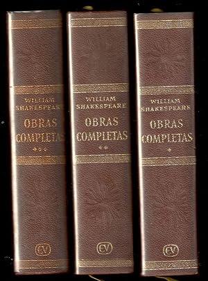 OBRAS COMPLETAS, 3 VOLS.: SHAKESPEARE, WILLIAM; LUIS