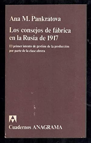 CONSEJOS DE FABRICA EN LA RUSIA DE: PANKRATOVA, ANA M.;