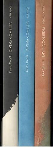 DIVINA COMEDIA, 3 VOLS.; PURGATORIO, INFIERNO Y: ALIGHIERI, DANTE; MIQUEL