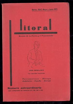 LITORAL, 37, 38, 39 Y 40 NUMERO: VV.AA.; JOSÉ BERGAMIN,