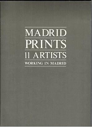 MADRID PRINTS 11 ARTISTS (WORKIN IN MADRID): VV.AA.; EDUARDO ARIGITA,