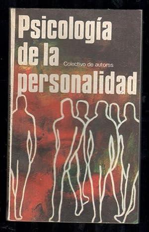 PSICOLOGÍA DE LA PERSONALIDAD: VV.AA.; FERNANDO GONZÁLEZ