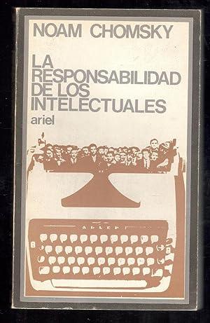 RESPONSABILIDAD DE LOS INTELECTUALES Y OTROS ENSAYOS: CHOMSKY, NOAM; JUAN-RAMÓN