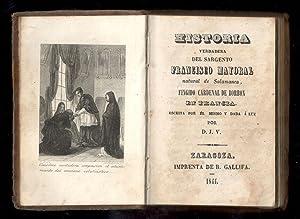 HISTORIA VERDADERA DEL SARGENTO FRANCISCO MAYORAL NATURAL: MAYORAL, FRANCISCO; D.J.V.,