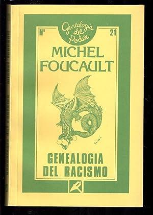 GENEALOGÍA DEL RACISMO; DE LA GUERRA DE: FOUCAULT, MICHEL; ALFREDO