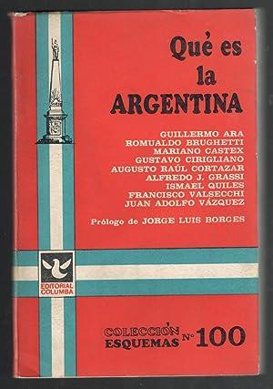 QUE ES LA ARGENTINA: VV.AA.; GUILLERMO ARA;