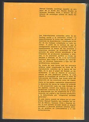 ESTRUCTURA DE CLASES Y POLÍTICA URBANA EN AMÉRICA LATINA: CASTELLS, MANUEL, (...
