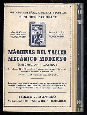 MANUAL MODERNO DEL AJUSTADOR Y DEL MONTADOR: ROLL, FRITZ; MARTÍN KRAMER MORATA, (TRADUCCION); ...