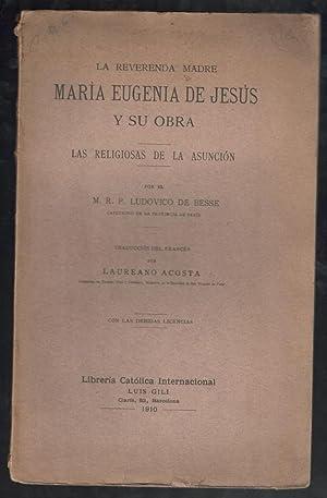 REVERENDA MADRE MARIA EUGENIA DE JESUS Y: BESSE, LUDOVICO, (CAPUCHINO