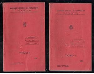 REGLAMENTO PARA EL SERVICIO TOPOGRÁFICO ARTILLERO; ANEXO II AL REGLAMENTO PARA LA INSTRUCCI&...