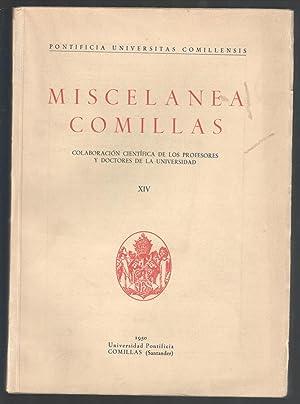 MISCELANEA COMILLAS, XIV TRIPLE POTESTAD DE LA: VV.AA.; JOAQUÍN SALAVERRI;
