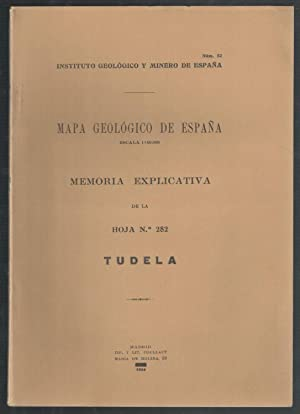 MAPA GEOLÓGICO DE ESPAÑA, ESCALA 1.50.000; MEMORIA EXPLICATIVA DE LA HOJA Nº ...