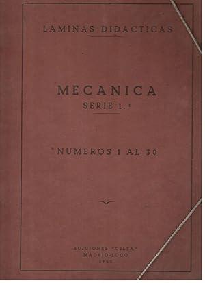 MECÁNICA, SERIE 1ª NUMEROS 1 AL 29 (SOLO LAS LAMINAS DIDÁCTICAS SIN TEXTO): ...