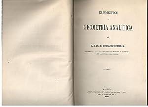 ELEMENTOS DE GEOMETRÍA ANALÍTICA: DOMÍNGUEZ HERVELLA, MODESTO