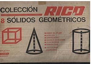 COLECCION RICO 8 SÓLIDOS GEOMÉTRICOS; NOMBRE DEL SÓLIDO, DEFINICIÓN, ...