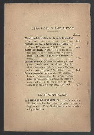 RICINO, EL (PALMA-CRISTI), SU ÁREA DE CULTIVO Y OPERACIONES AGRÍCOLAS. INDUSTRIA, ...