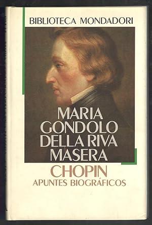 CHOPIN, APUNTES BIOGRÁFICOS: GONDOLO DELLA RIVA