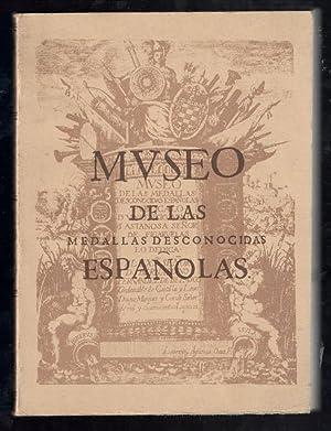 MUSEO DE LAS MEDALLAS DESCONOCIDAS ESPAÑOLAS: LASTANOSA, VICENCIO IVAN