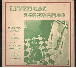 LEYENDAS TOLEDANAS; EL CRISTO DE LA VEGA;: VV.AA.; JOSÉ ZORRILLA;