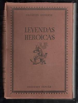 LEYENDAS HEROICAS; 20 CUADERNILLOS; DON SUERO DE: VV.AA.