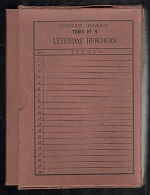 LEYENDAS HEROICAS; 20 CUADERNILLOS; DON SUERO DE QUIÑONES (CASTILLA EN LEYENDA); LA CAMPANA ...