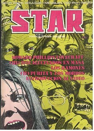 STAR, 25 COMIX Y PRENSA MARGINAL; HOWARD: VV.AA.; JUAN JOSÉ